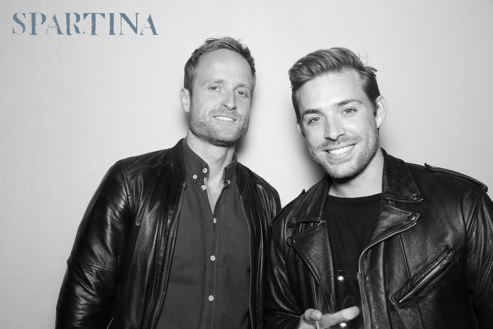 The RUMOR Photo Media premium photo booth experience at the Spartina LA Grand Opening