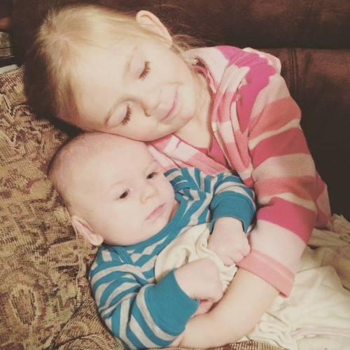 Marlee Jo Grace & Tapp Paul, such a sweet picture!