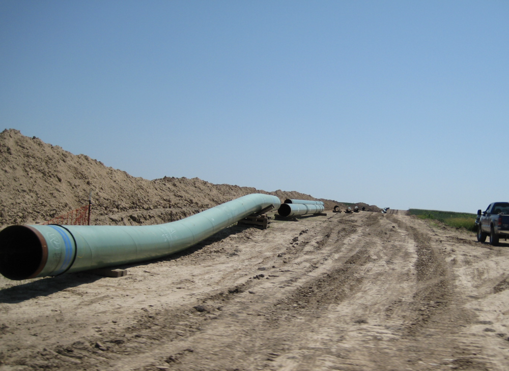 Pipelines - Oil and gas pipelines, oil and gas production wells, waterlines, sewer lines, access roads.