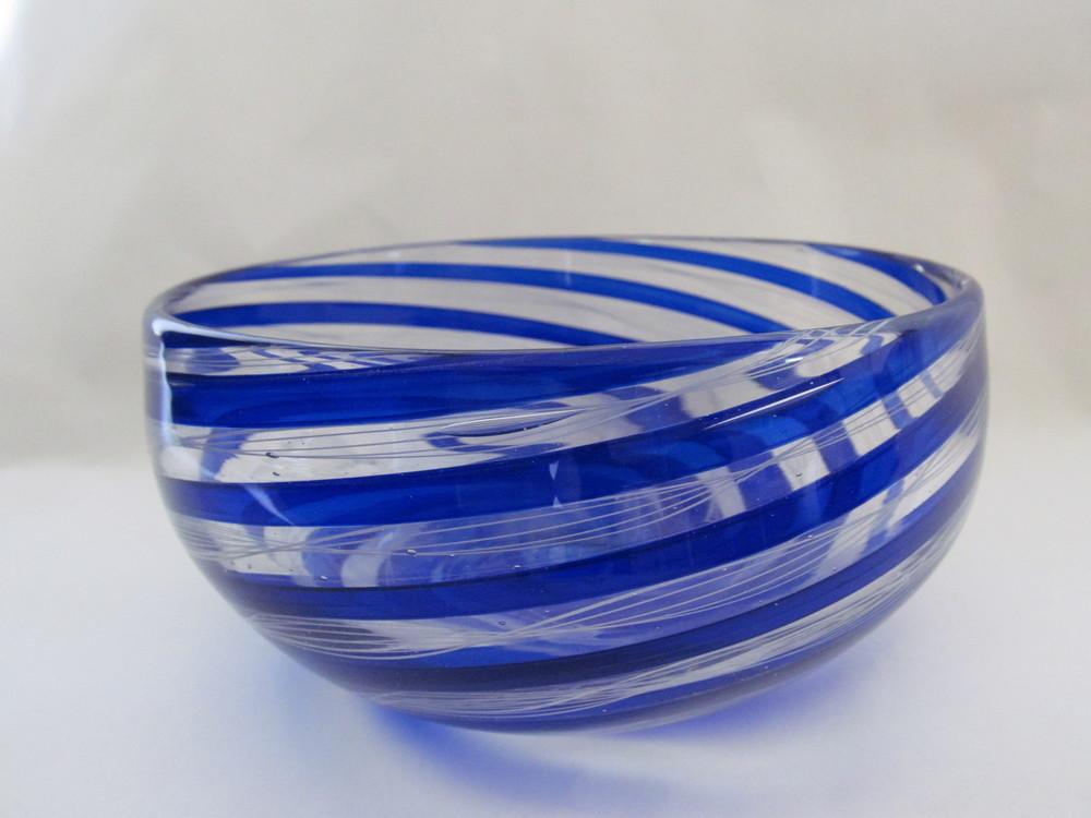 Blue Ballotini Cane Bowl.JPG
