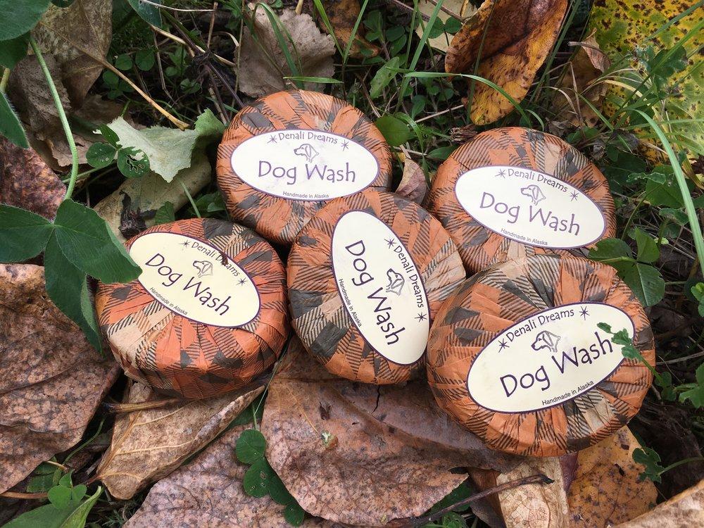 Thank you Denali Dreams for always providing dog soap!