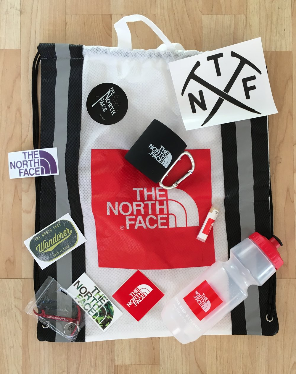 Thank You North Face for your generous gift donations!