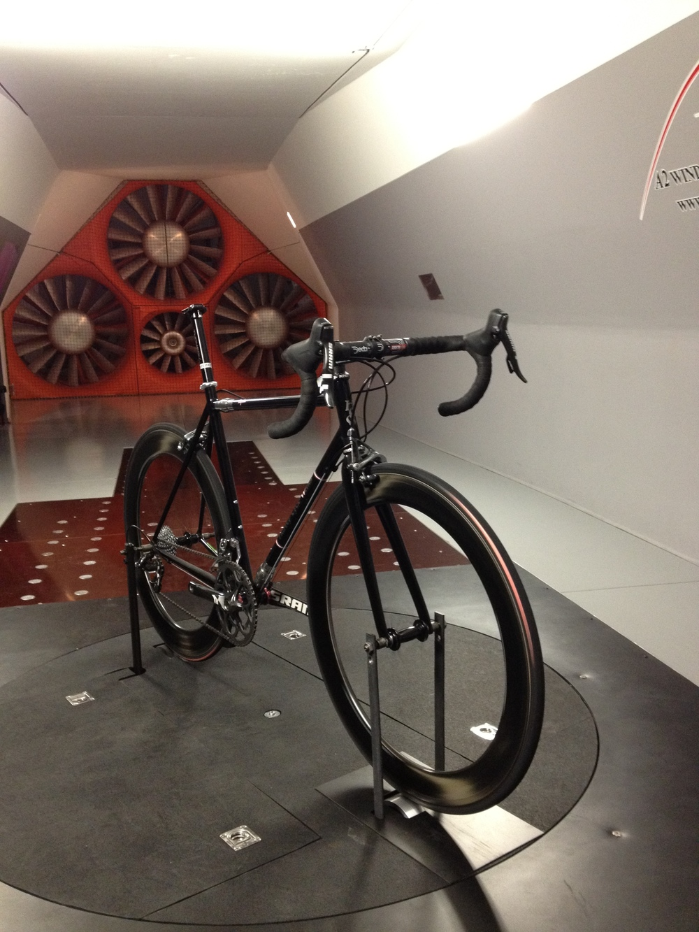 On the A2 Wind Tunnel balance