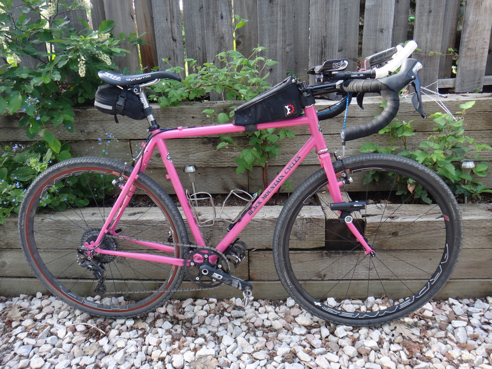 My beloved Black Mountain Cycles, seen here in Dirty Kanza 200 trim.