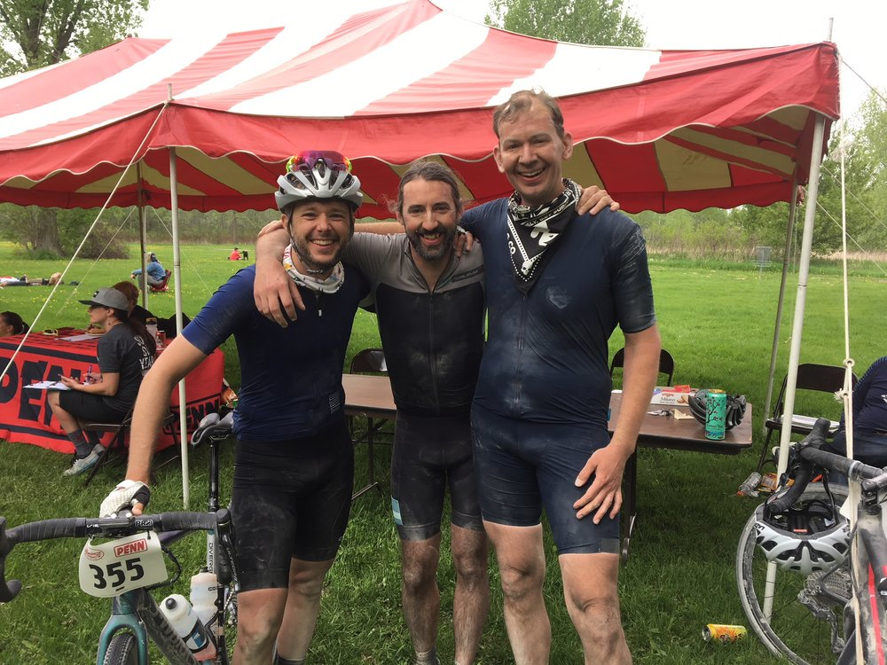 Done and dusted. It was a pleasure to ride with Phil and Jared. Together we shared work, food, water, and stories. All the things that make gravel great!