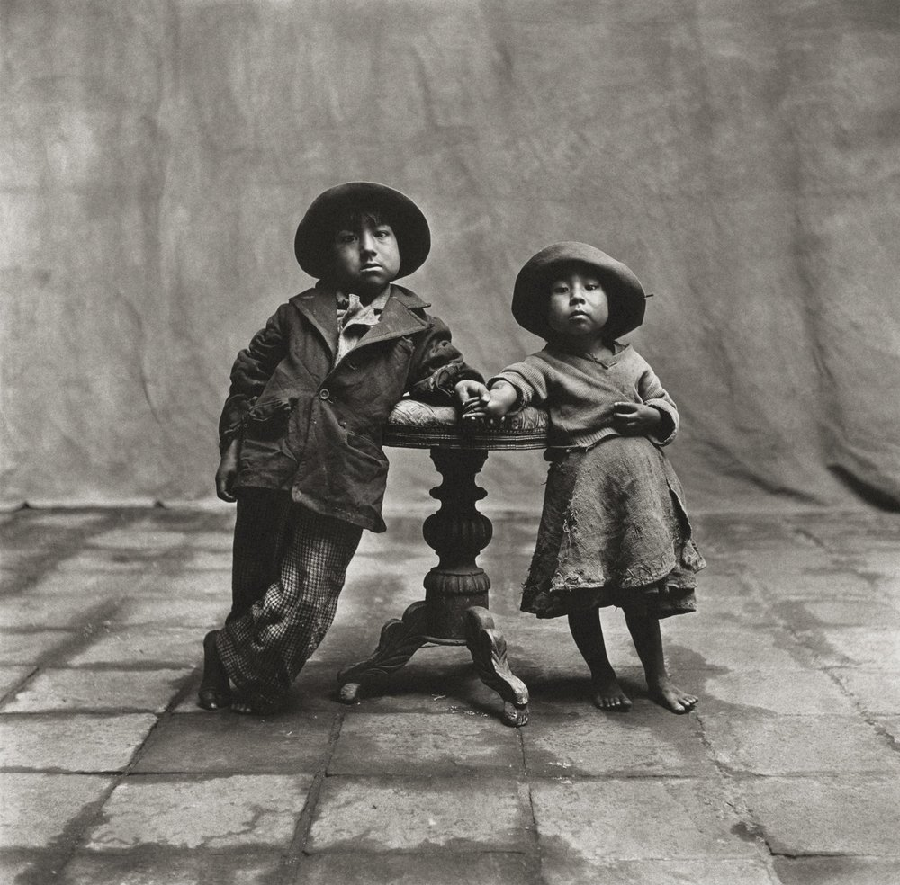 """Cuzco Children"", 1948, Copyright CONDÉ NAST"