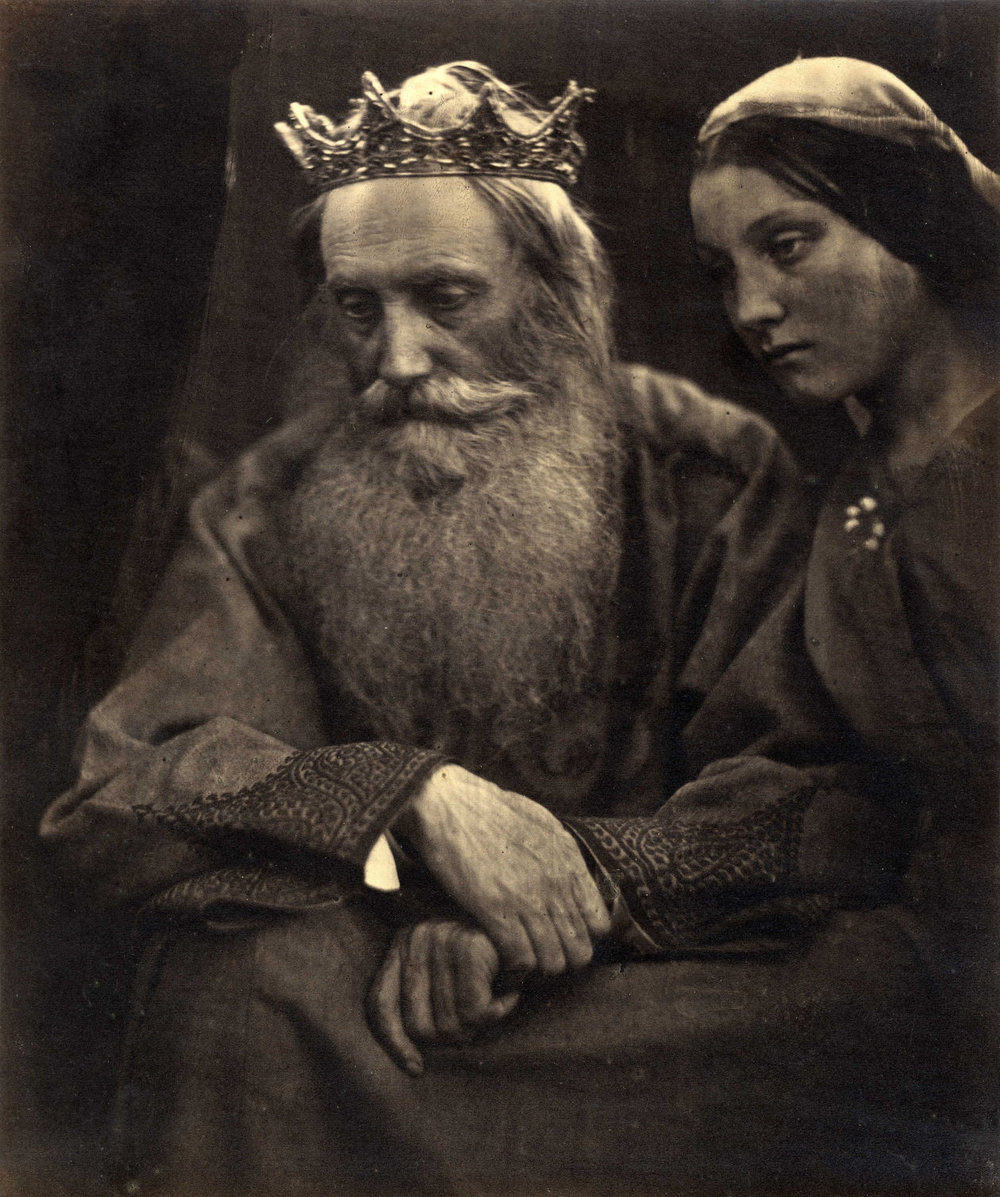 Julia Margaret Cameron's 'King David and Bathsheba (Henry Taylor and Mary Hillier)' (1869) PHOTO: COLLECTION OF MICHAEL MATTIS AND JUDY HOCHBERG.