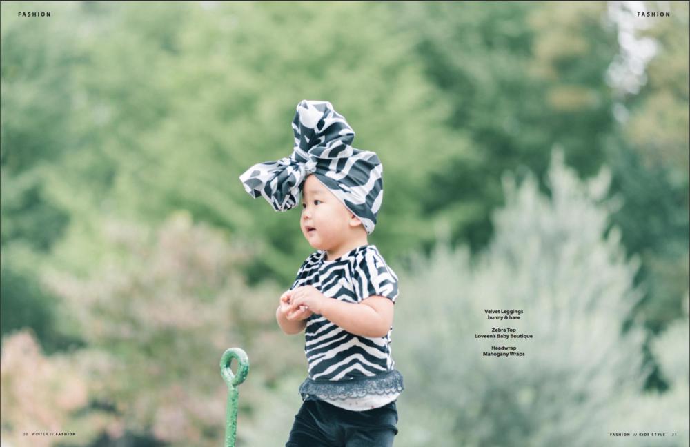 雑誌Kids StyleにてA Kids World、We Are Fashionのページ撮影担当させて頂きました。