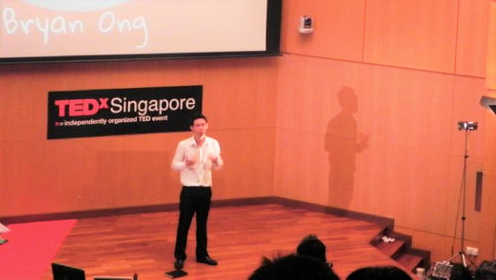 Speaker at TEDxSingapore