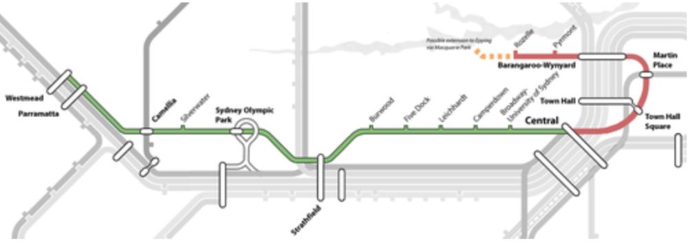 Sydney Metro Stage 2: West Metro