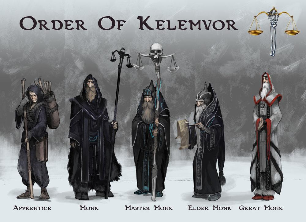 Order Of Kelemvor - D&D