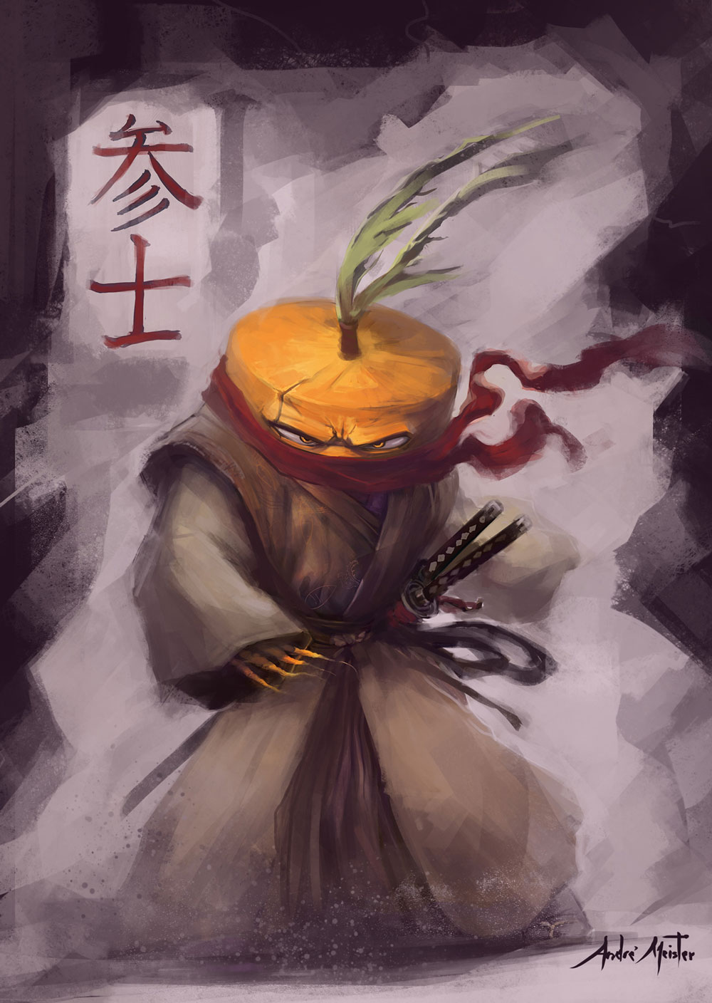 The Samurai... Carrot