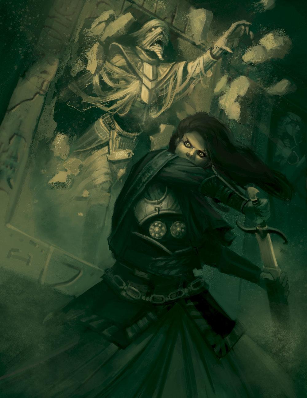 Stygian Mummy - Conan RPG Copyright © Modiphiüs Entertainment