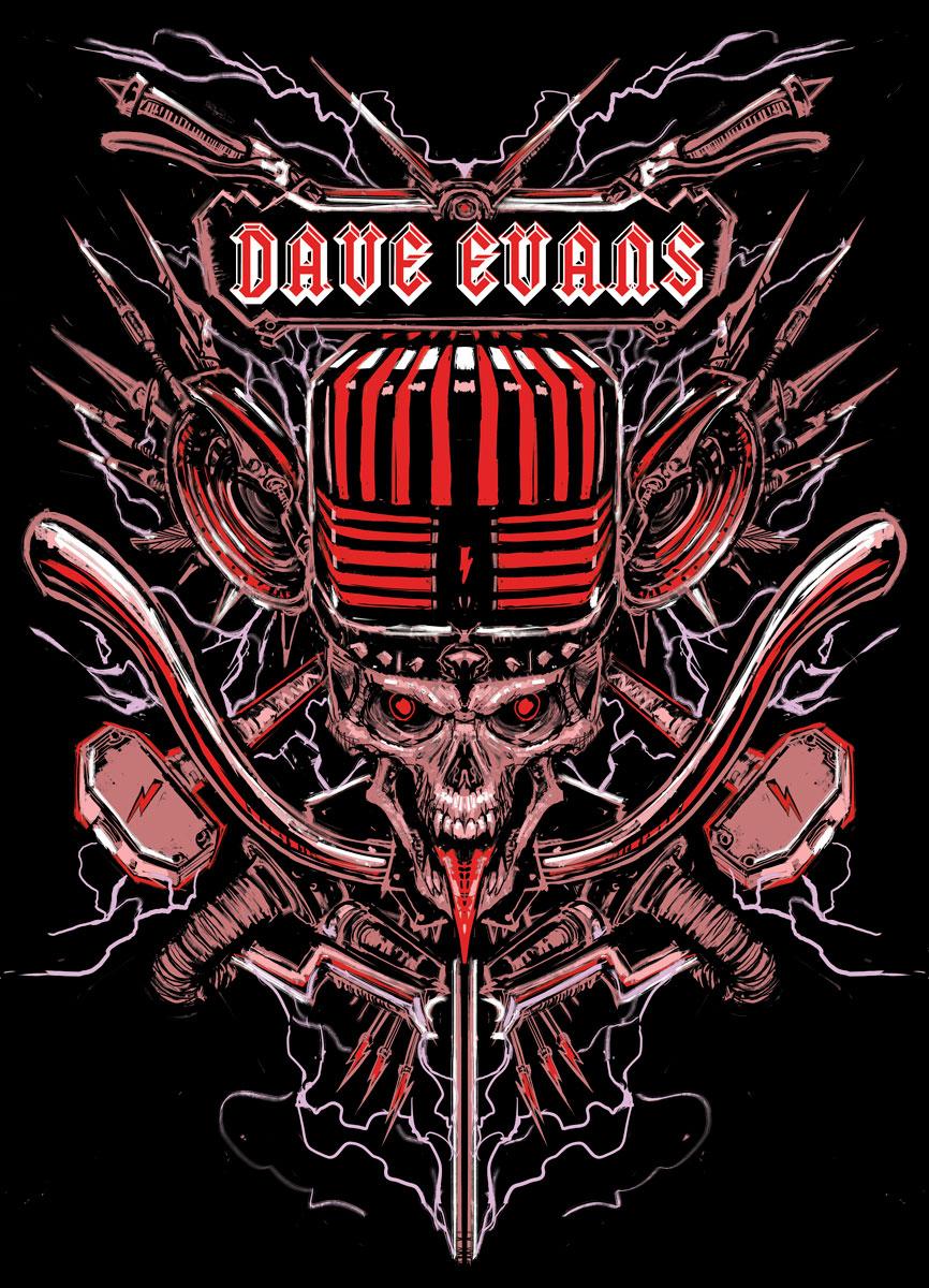 Dave Evans Official Tour