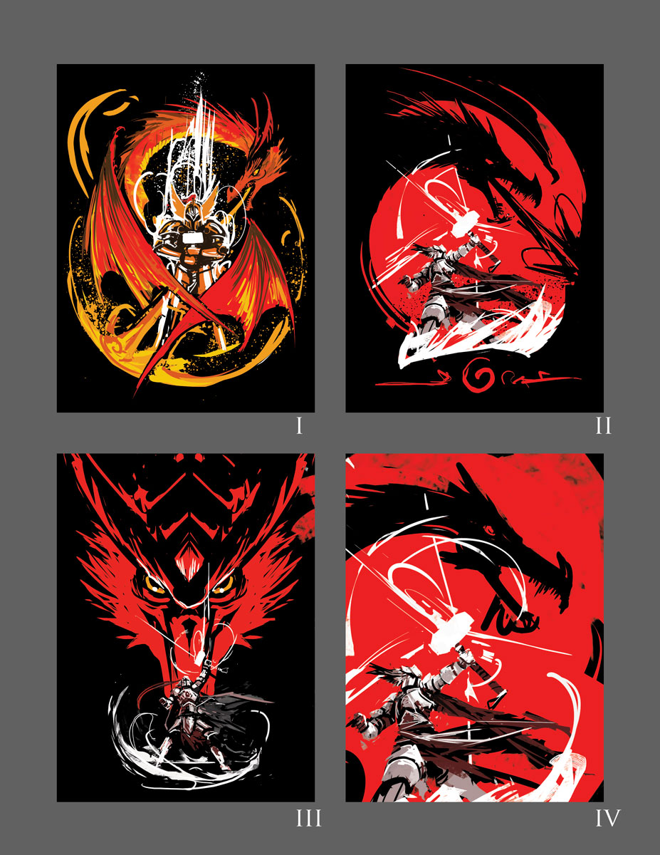 Base Sketches - Shirt Design  Hail To The King - Nerdstore Check the Final Version  HERE  (Open in New Window)