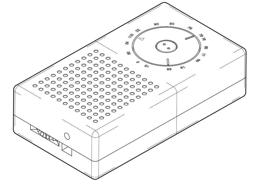 Braun Pocket Radio T3 by Dieter Rams and Ulm Hochschule für Gestaltung, 1958