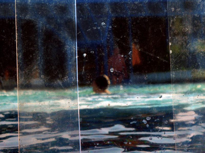 LANDSCHAFT SCHWIMMEN I -70 x 100 cm