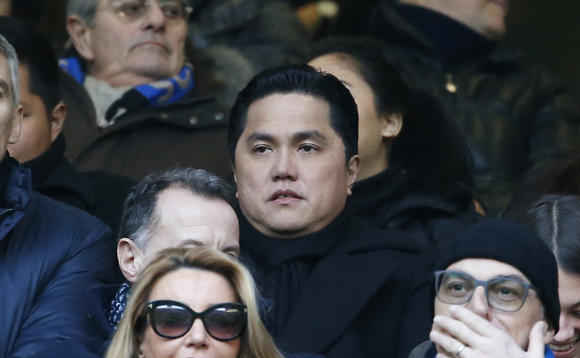 Erick Thohir, the Indonesian president of Italian soccer club Inter Milan, is cultivating sports-related opportunities back home. © AP