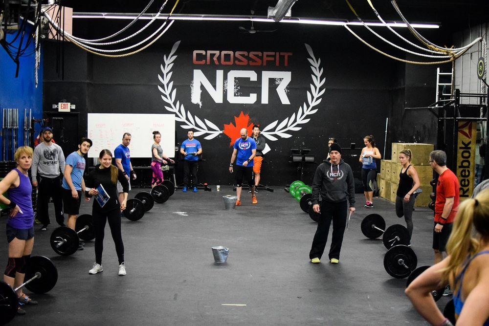 NCR getting ready for Saturday's first heat of 16.5.  Bring on the pain.