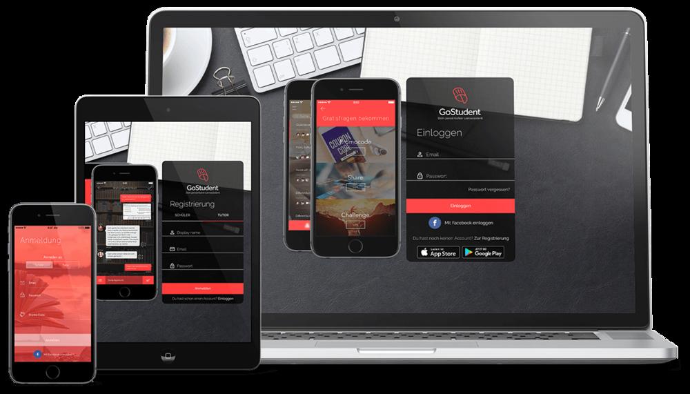 Auf allen Geräten verfügbar (App auf iOS und per Browser erreichbar)