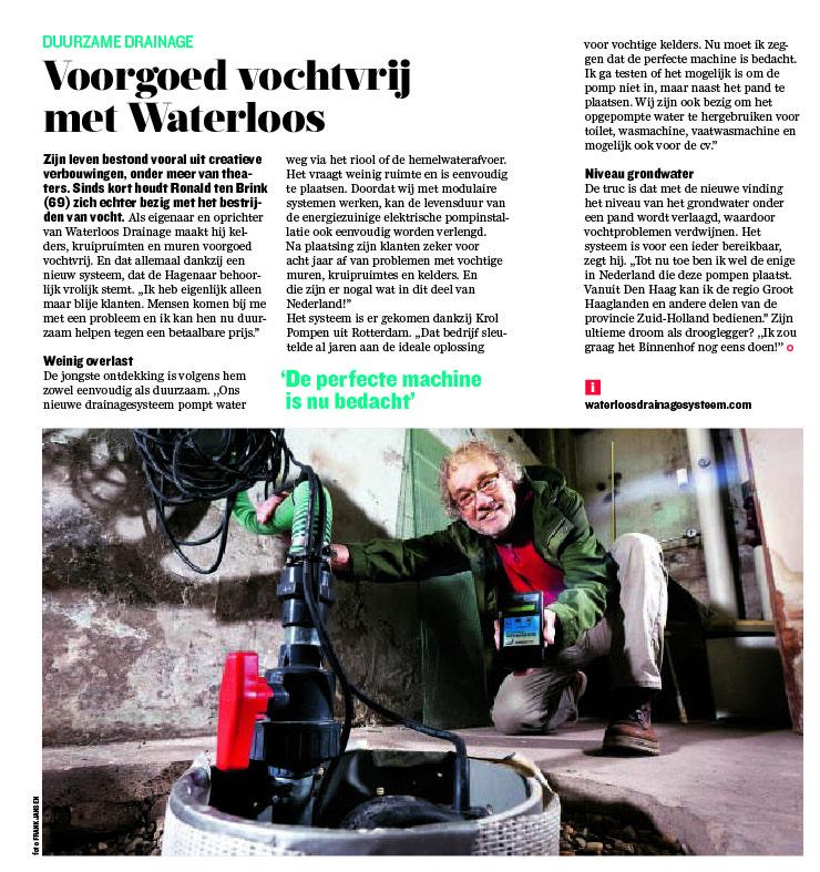 uit: algemeen Dagblad 21 mei 2015