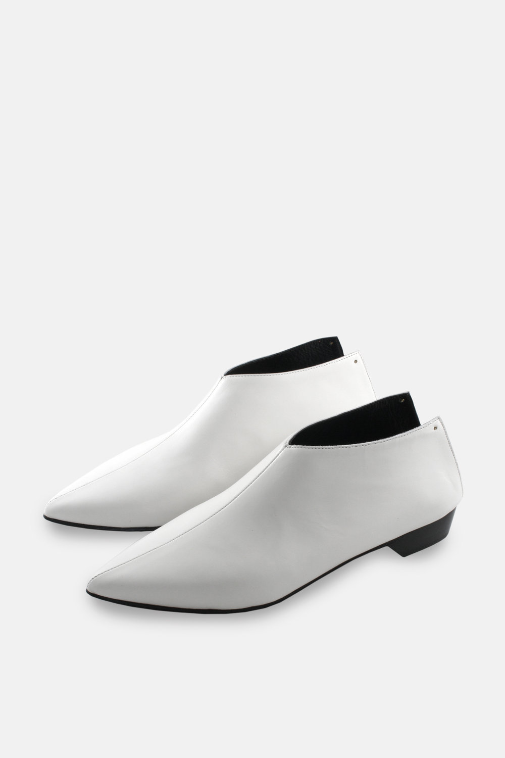 Bootie Mule - white