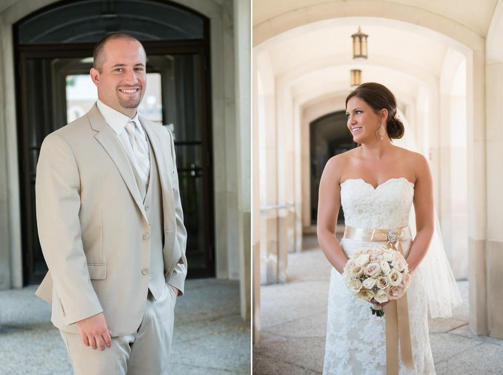 Des Moines Iowa Wedding Photographer Tournament Club of Iowa Wedding