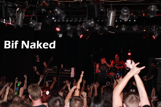 Bif Naked at The 40