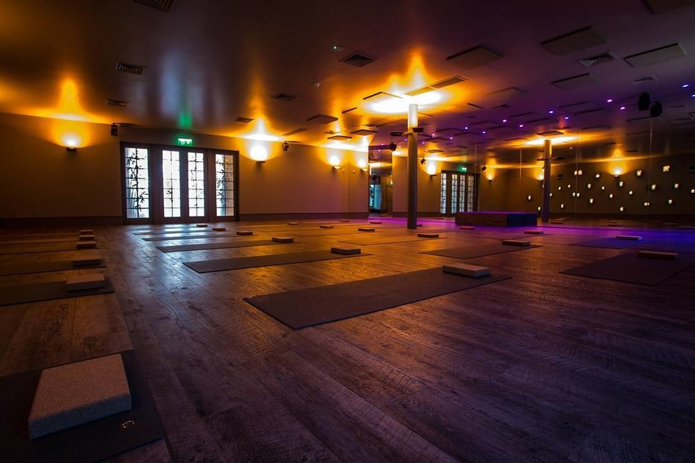 Their sanctuary of a hot yoga studio