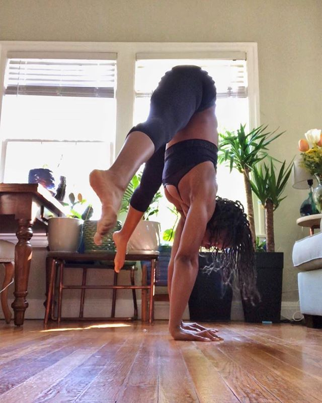 I'm back. This time I'm Dr. Tara, PhD in Neuroscience, which has absolutely nothing to do with me giving you suggestions on how to pike into a handstand (aside from the fact that yoga kept me *somewhat* sane as I completed my doctorate degree). I'm still just as much as a doof as I was before, only now that's Dr. Doof to you 😂💁🏾♀️💅🏾 ➖ Over the past few months I've fallen back. Back into my little cocoon of isolation. I was finishing all of my PhD experiments, analyzing data, moving from DC to California, writing my thesis, then defending my thesis in London while learning 7 new @fiercegraceyoga classes and keeping up with my own practice. If that doesn't justify a hiatus of a few months I don't know what does 😩. ➖ Aside from being hectic af I've just been disillusioned with social media. It's probably because I haven't curated my feed but even on the explore page I see the same white, thin, able bodied, cis, attractive women trying to influence me to buy some leggings, go on a retreat with them or make a fu*king smoothie bowl 🙄. I'm not knocking the hustle. By all means, secure the bag 💰. But damn, do y'all have anything to say? Do you have any diverse perspectives? Have you given any thought to what happens outside your bubble? Do you have anything remotely significant to contribute, or are you just adding to the noise with your hypermobility and flexibility? I'm not saying everything you post has to be some ground breaking, earth shattering eureka moment but can I have a little substance with that split to handstand transition?🤔 ➖ So rather posting just to keep my engagement up, I'd rather stfu and wait until I have something meaningful to say. Even if that is just a suggestion as you start to press into a handstand. ➖ Social media is a difficult medium for me because I'm a very private person. It's easier for me to hide behind curated and edited photos, so I'll do my best from now on to post a video of how I get into each pose (fails & bloopers inc) with an expla