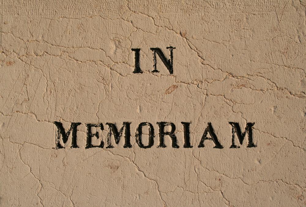 In Memoriam, 2013