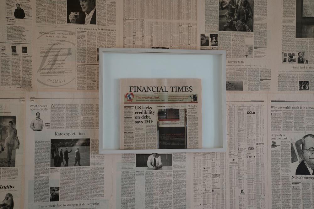 Roland Schefferski, Financial Time(s), 2012