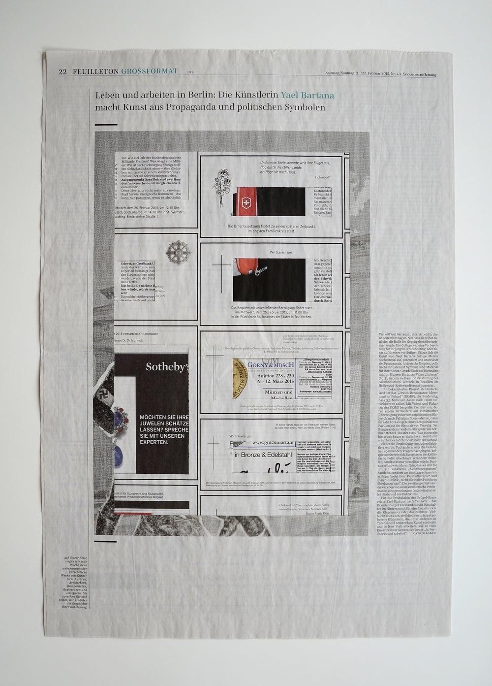 Roland Schefferski, Süddeutsche Zeitung, Februar 2015