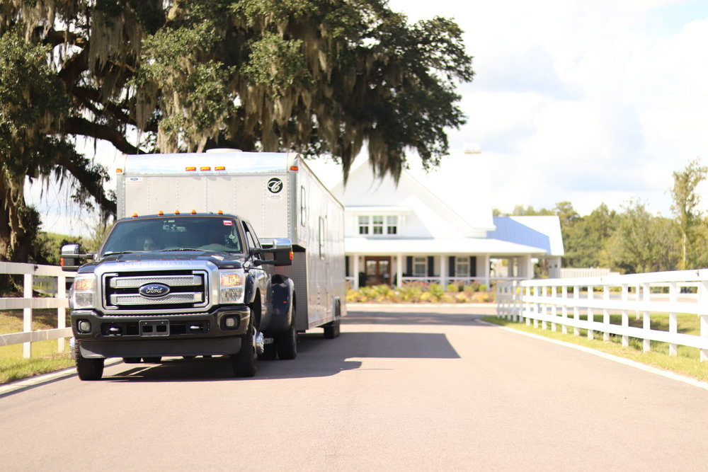 Leaving Creek Fire RV Park In Savannah GA