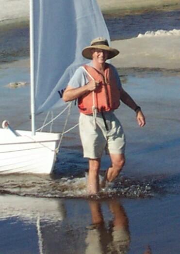 David in Eastern Lake, 2003