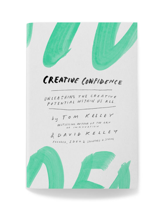Creative Confidence - Creative Confidence is a book by the founders of IDEO Tom Kelley + David Kelley. This book focuses on unleashing the creativity that lies within all of us. It also stresses that creative thinking is not just for those of us  that are artist or designers but is a valued way of thinking for everyone.This book has inspired creative thinkers to look at things more holistically. Using Human centered design to lead to break-through innovations in all differnt fields. While also reinforces the importance of having empathy toward your target audience by taking the time to understand their needs not just your creative vision.