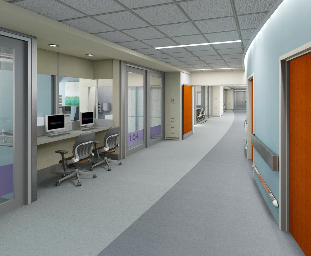 ICU renovation and design