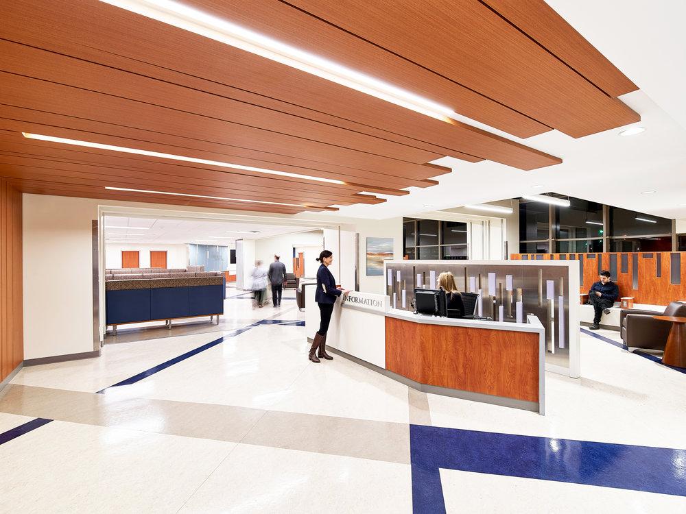 hospital lobby design