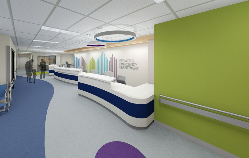 peds nurse station_rendering