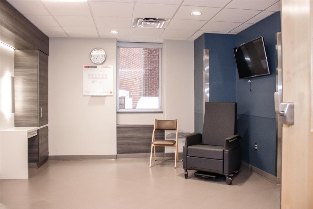 healthcare design rwjuh patient room