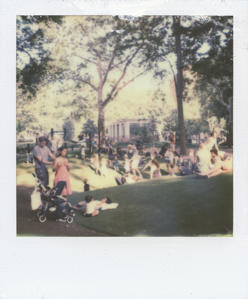 Unseasonably Calm , 2015 Camera: Polaroid SX-70 Film: Polaroid Originals