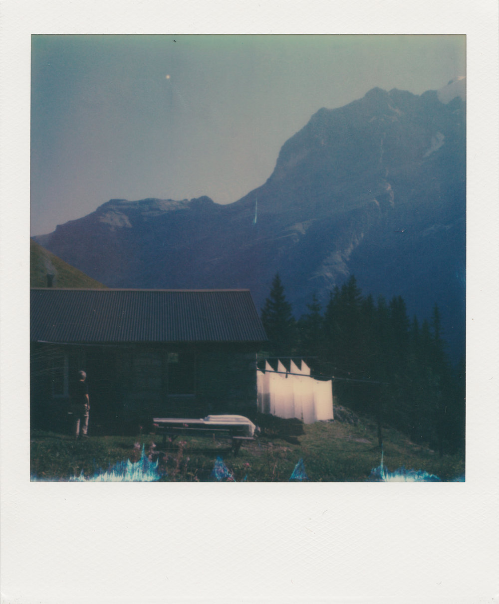 Laundry Day , 2017 Camera: Polaroid SX-70 Film: Polaroid Originals