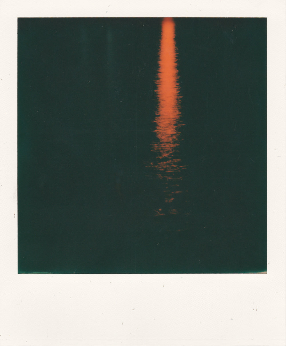 The W , 2016 Camera: Polaroid SX-70 Film: Polaroid Originals