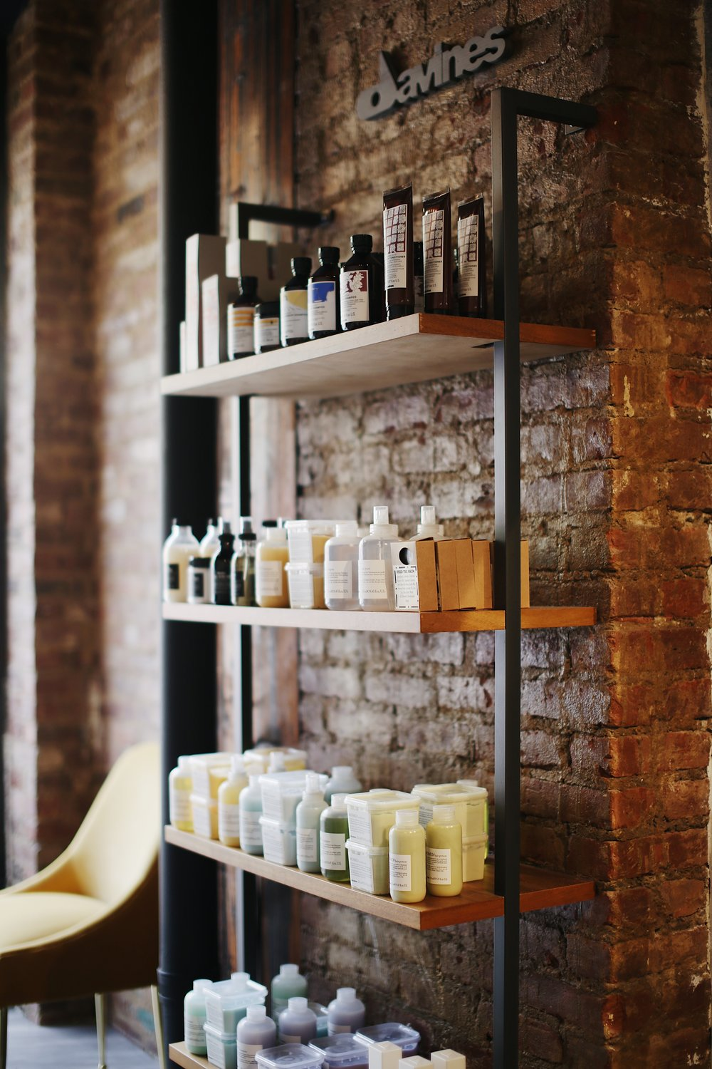 bianchi salon davines products