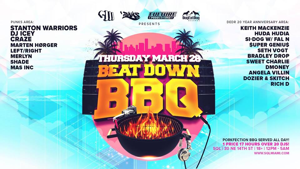 Beat Down BBQ - SQL Miami — Electric Love Productions LLC