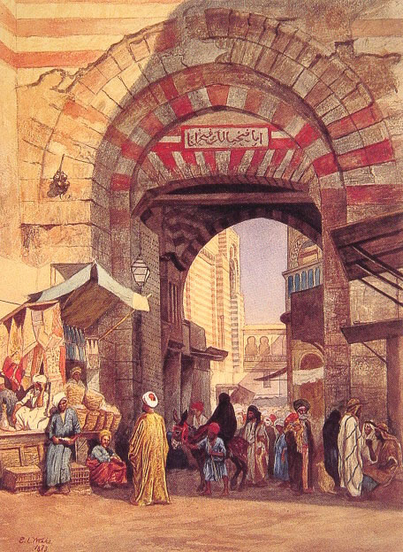 Image Credit : The Moorish Bazaar - Edwin Lord Weeks