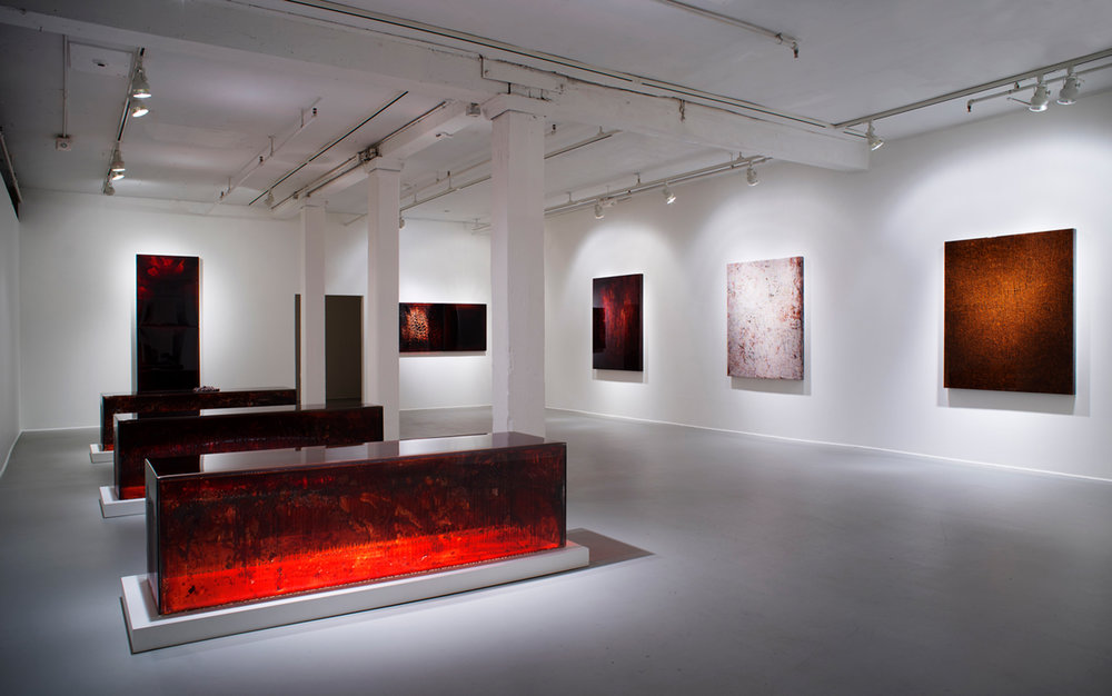 Installation view, Boston Center for the Arts, 2014