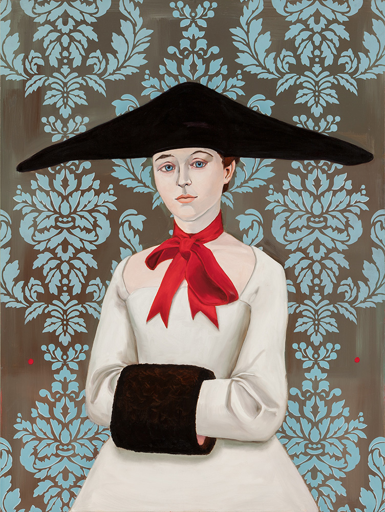 "Margueritte  / 48"" x 36"" / oil on linen"