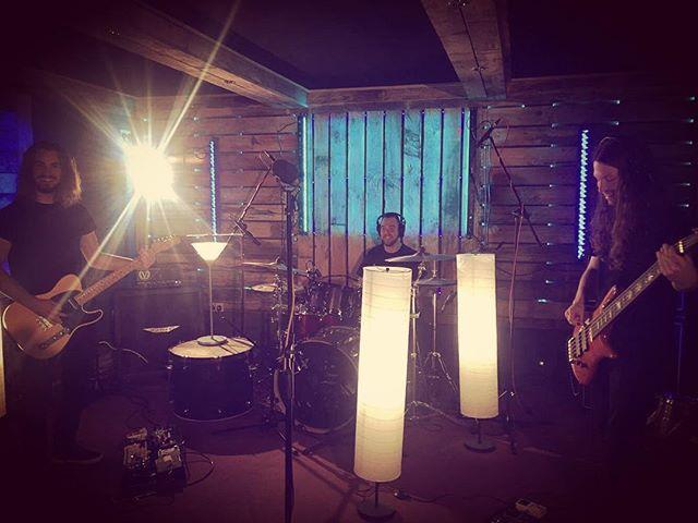 Sweeeet studio session today at @garagerecordingstudios before heading to the Railway for tonight's gig! #studiotime #livemusic #tour #rock #rockmusic #progrock #studiosession #studio #gateshead #saturdaynight #live