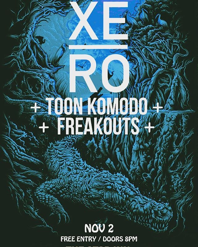 📢#justannounced our #guildford date with the class @toonkomodo and @freakoutsband.. This will be the last date of our #tour and it's FREE!#bethereorbesquare #livemusic #gig #progrock #rock #altrock #liverock #xero #xeroband #thestar #guildfordlive #guildfordmusic #freeentry